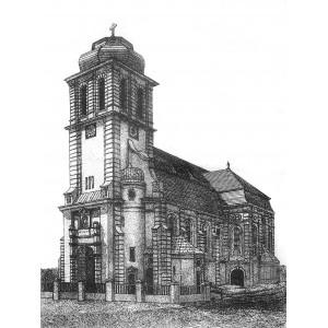 """Siupka Weronika """"Neobarokowy kościół w Dąbrówce Małej"""""""