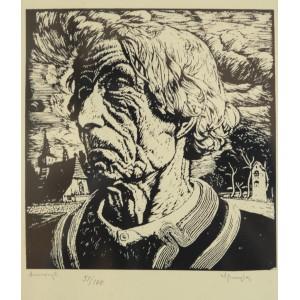 """Skoczylas Władysław (1883-1934) """"Głowa górala"""""""