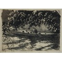 "Czajkowski Józef (1872-1947) ""Na łódce"""