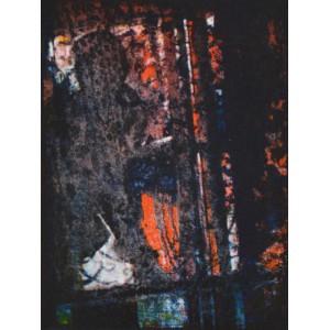 """Adam Czech """"Vitrer"""", Algrafia, wym.13x10cm"""