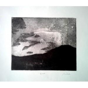 Anna Wajda, Bez tytułu, Epidiant, 42x48 cm