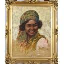 "Behrmann Adolf (Abraham) (1876-1942)   ""Portret kobiety"""