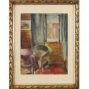 """Hirszfang Ignacy (1892?-1943)  """"Wnętrze"""""""
